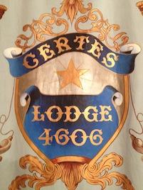 Certes Lodge 4606 Banner Small